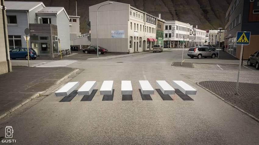 Тестирование 3D-Пешеходного перехода
