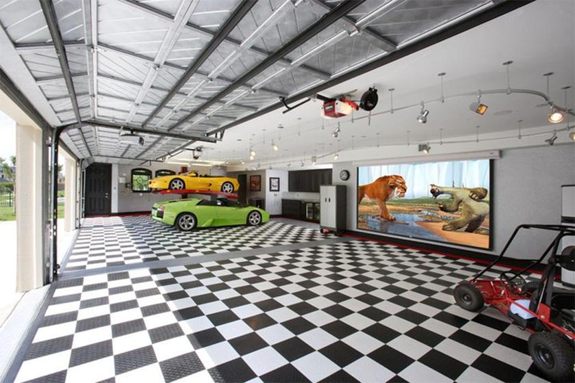 Автомобильные гаражи класса Люкс