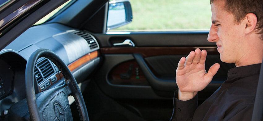 Пахнет гарью в салоне автомобиля